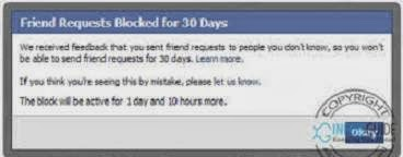 how to send friend request to someone who blocked me