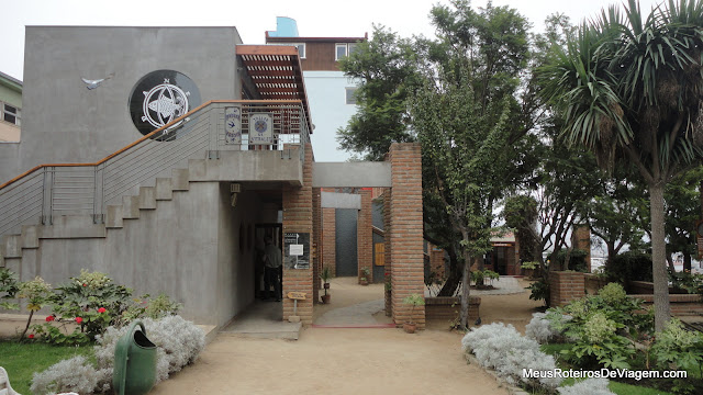 Loja e bilheteria do Museu La Sebastiana - Valparaíso, Chile
