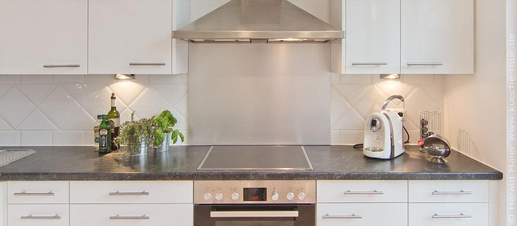Ordentlich Wir renovieren Ihre Küche : Rueckwand fuer Kueche SY27
