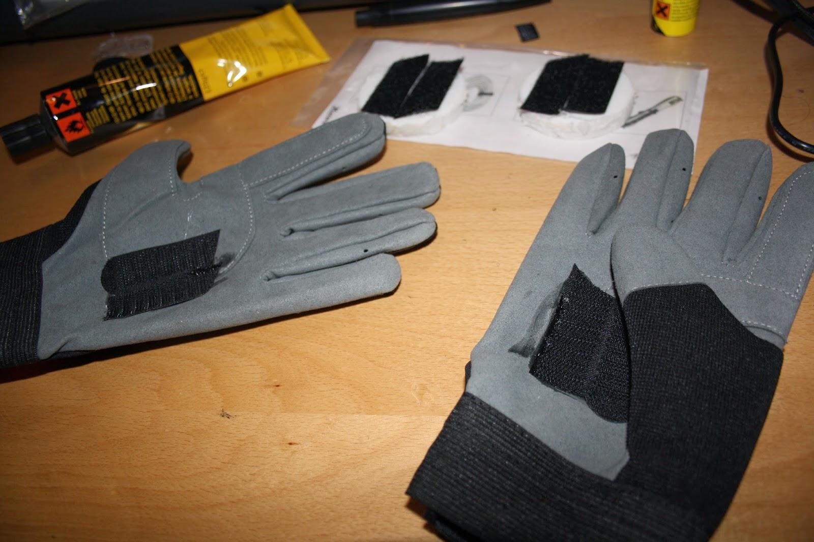 Komplett Neu Dave-it: DIY - Slide-Handschuhe - Longboarden EA47