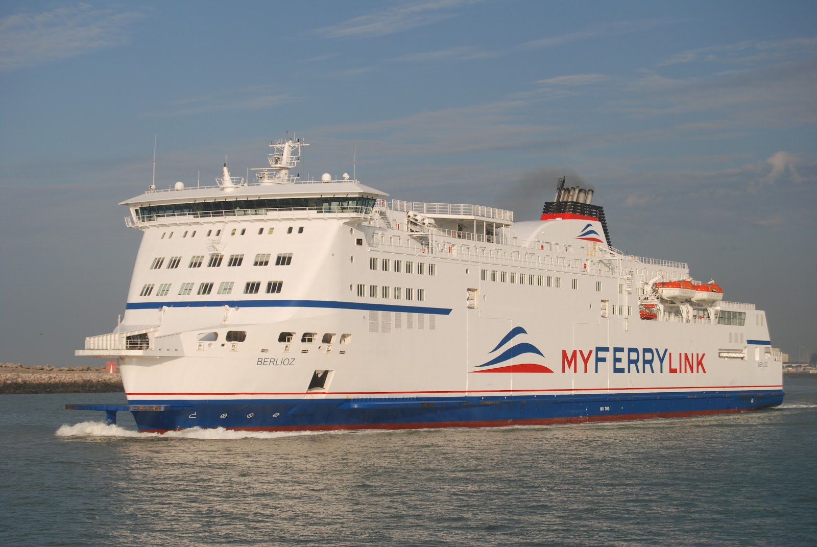 Vmf My Ferry Link New Service Calais Dover