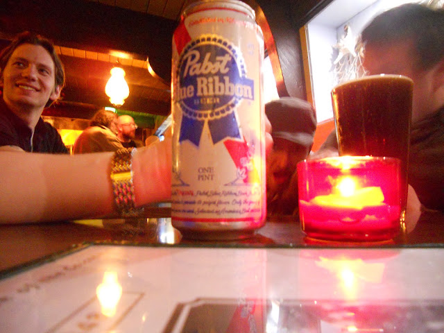 Seattle dive bar PBR