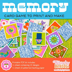 memory game printable kit