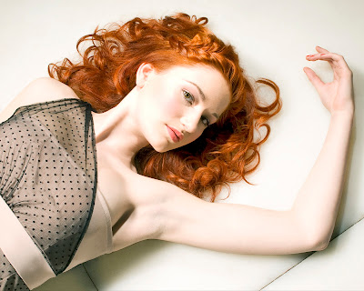 redhead, red hair, ginger, florence, model