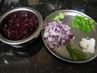 Beetroot Poriyal  2