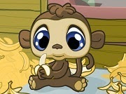 Littlest Pet Shop banana belly