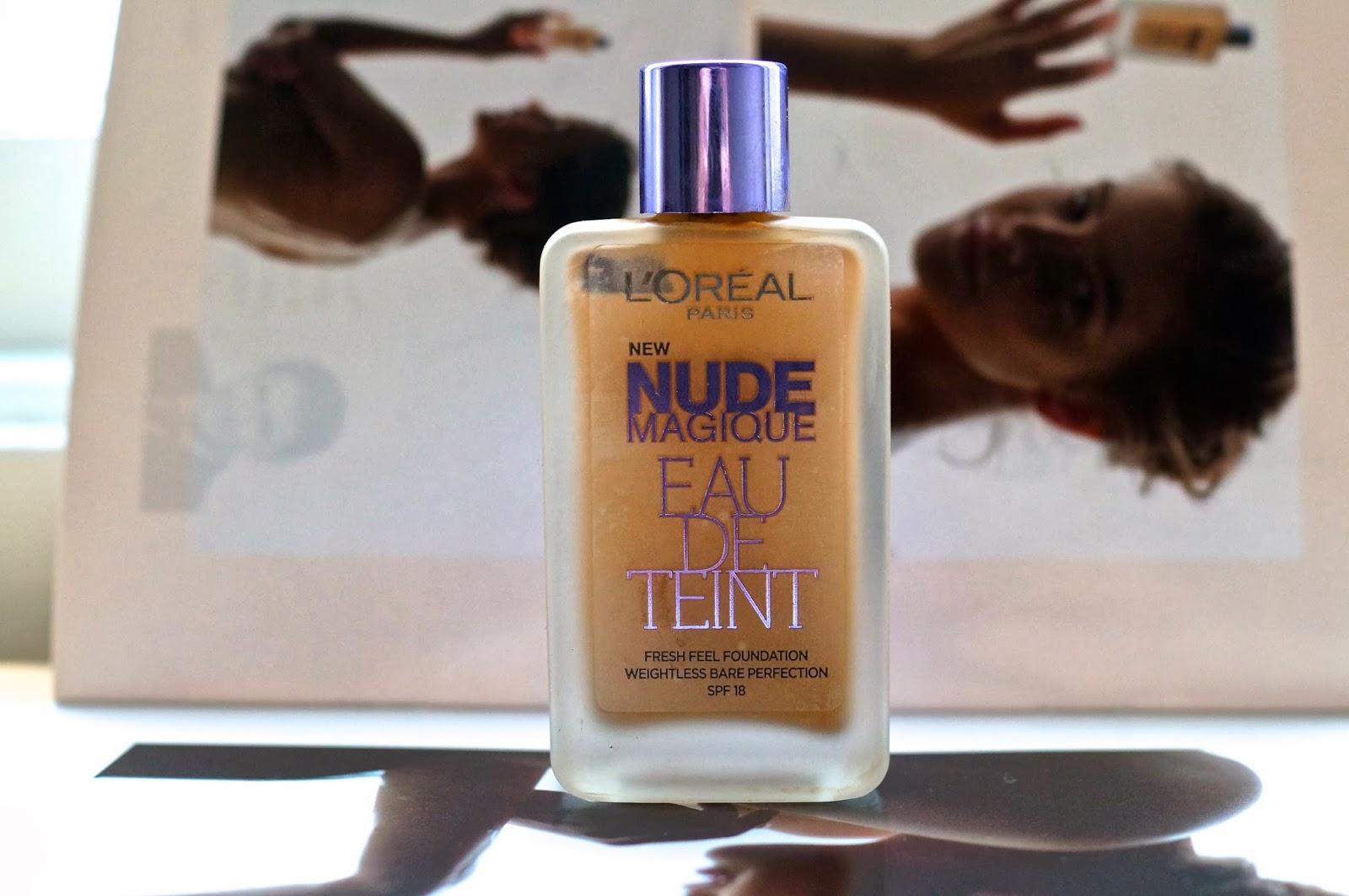 Review & Swatches : Loreal Nude Magique Eau De Teint