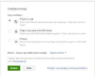 Cara Mudah Hosting Javascript Ke Google Drive