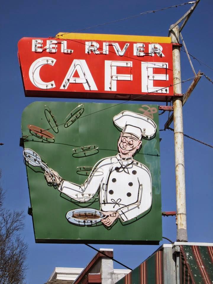 Eel River Care, Garberville, CA sign
