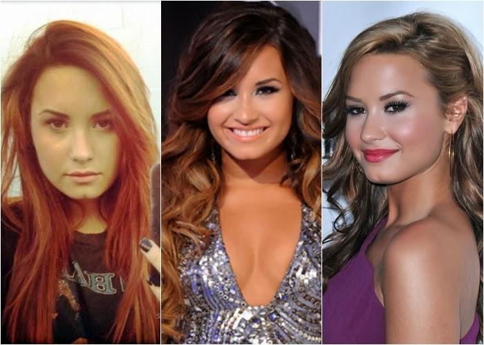 Cabelos de Demi Lovato