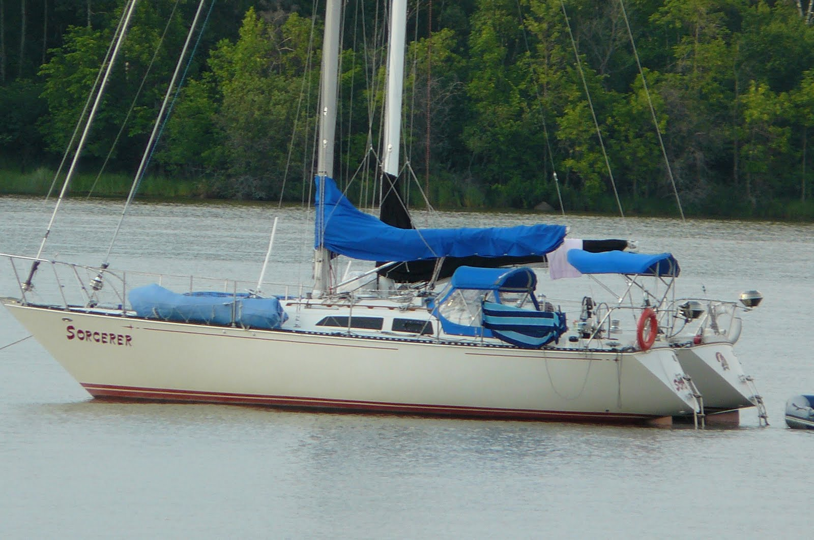 Sorcerer is a lovingly maintained C&C 34 built and launched in 1981.