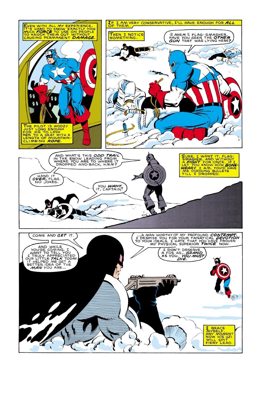 Captain America (1968) Issue #322 #250 - English 22