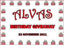 Alvas Birthday Giveaway