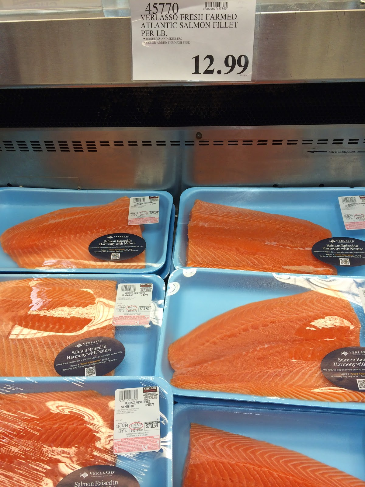 do you really know what you re eating new at costco whole at 12 99 a pound this artificially colored farmed atlantic salmon costs more than the fresh wild sockeye salmon i bought at costco whole in hackensack