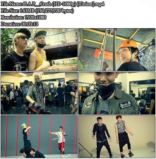 Download MV B.A.P - Crash (대박사건) (Full HD 1080p)