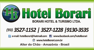 Hotel Borari, em Alter do Chão