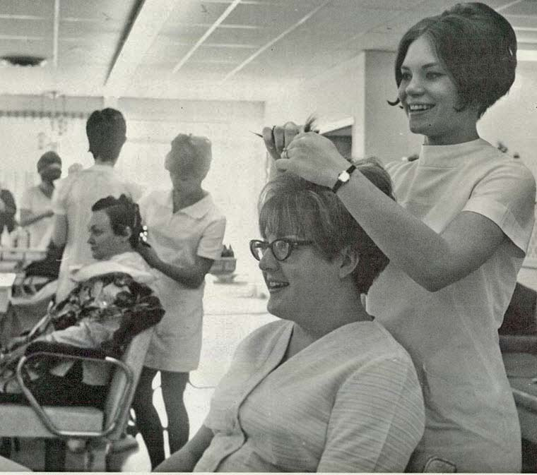 Barber And Beauty Shop : vintage everyday: Photos of Beauty Salon & Barber Shop in the 1970s