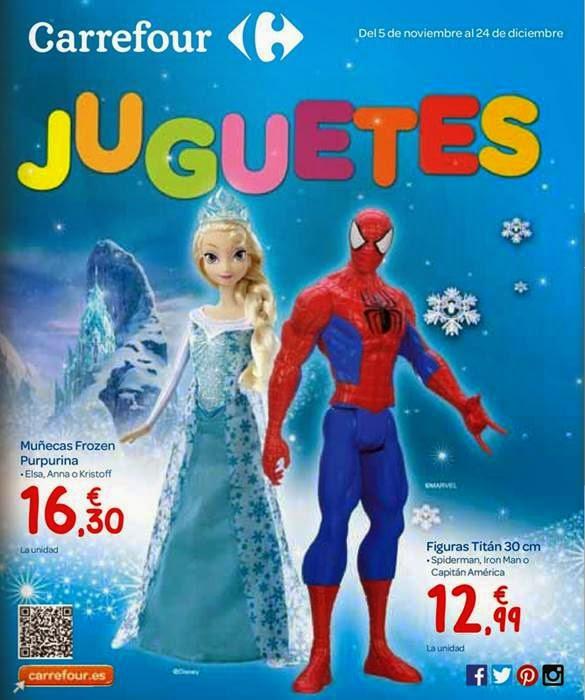 Juguetes de Navidad 2014 Carrefour