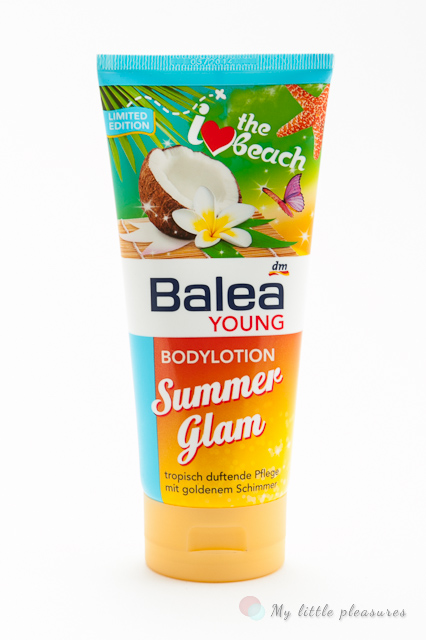 Balea Summer Glam - Rozświetlający balsam do ciała (LE)