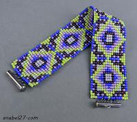 схемы для бисероплетени от анабель loom pattern bracelet