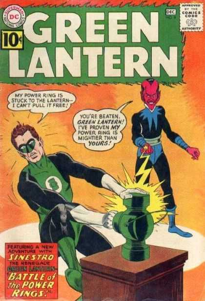 Green lantern ring comic - photo#23