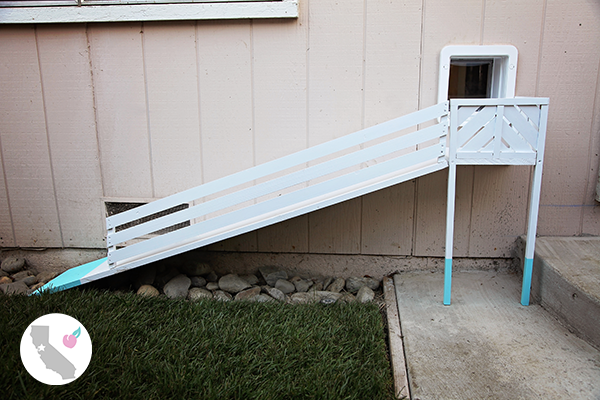 DIY Dog Door Ramp