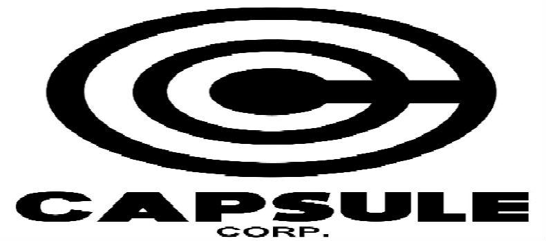 Capsule Corps Logo Capsule Corp