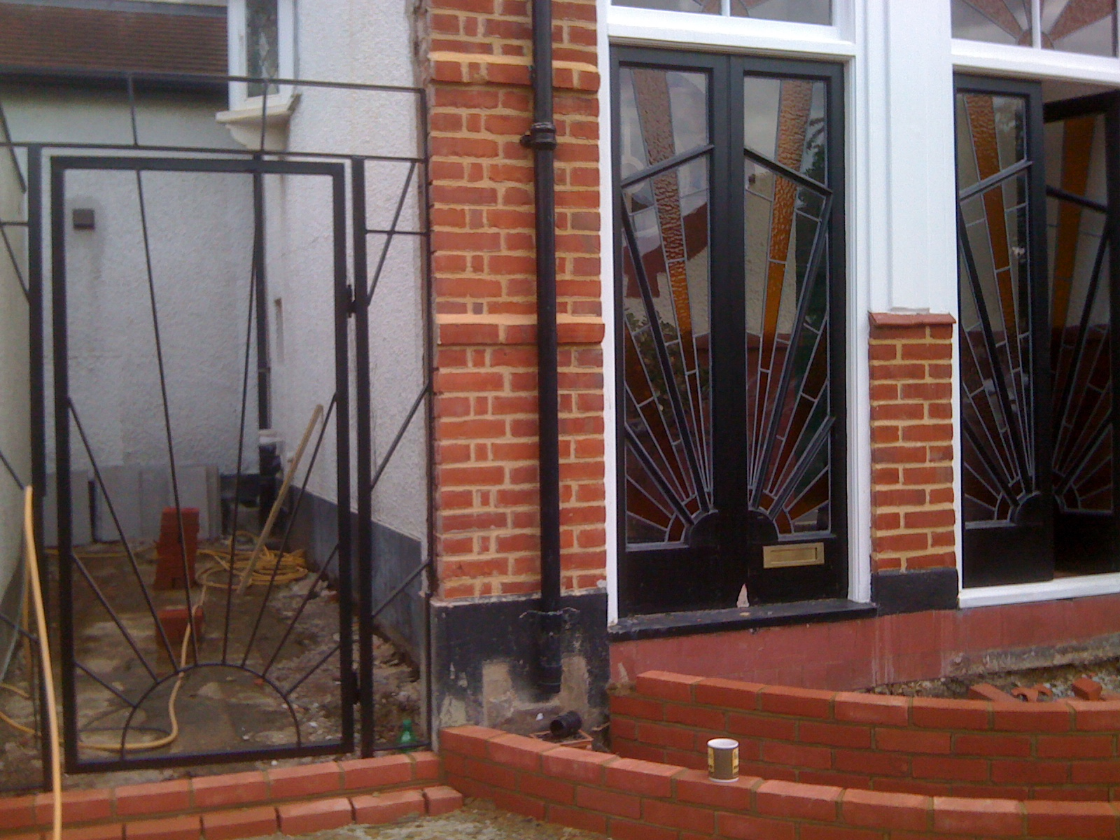 New Drive And Art Deco Gate