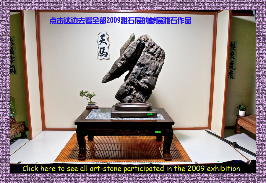 2009 参展雅石