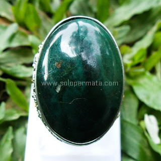 Cincin Batu Permata Bacan Chrysocolla - SP583