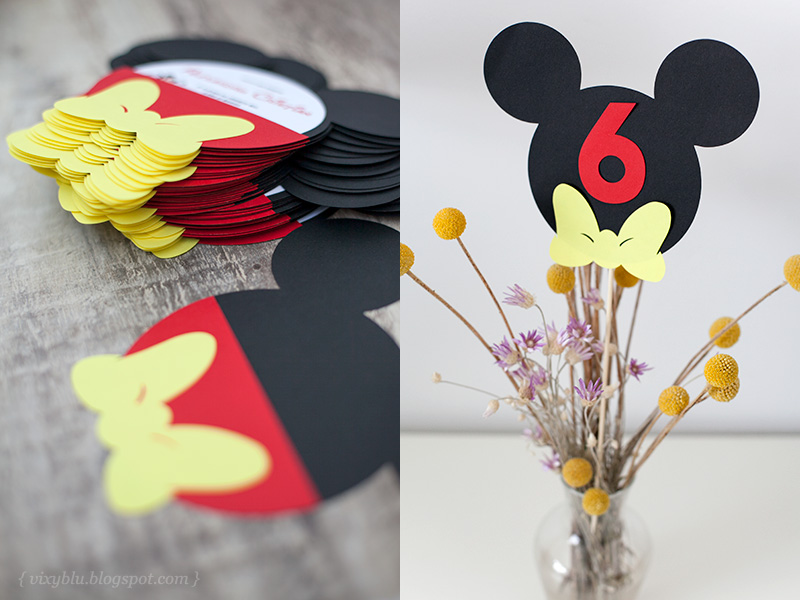 invitatii botez Mickey