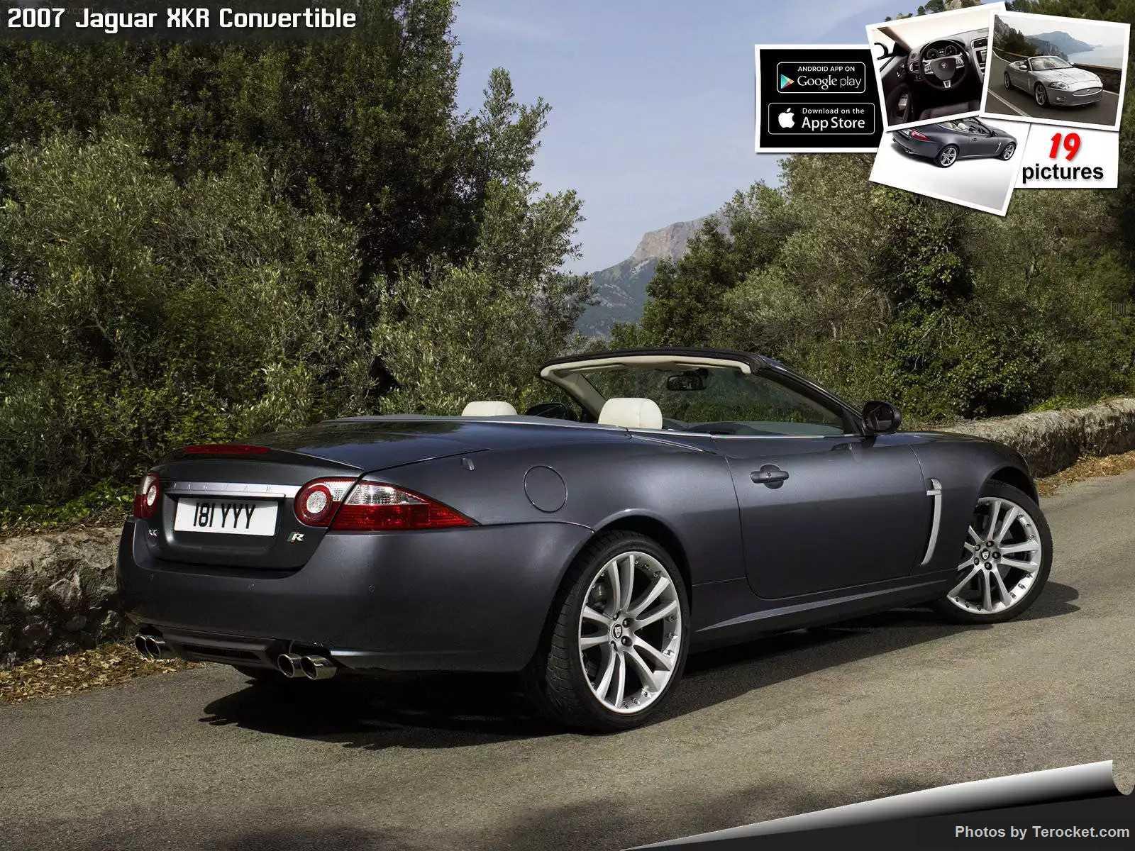 Hình ảnh xe ô tô Jaguar XKR Convertible 2007 & nội ngoại thất