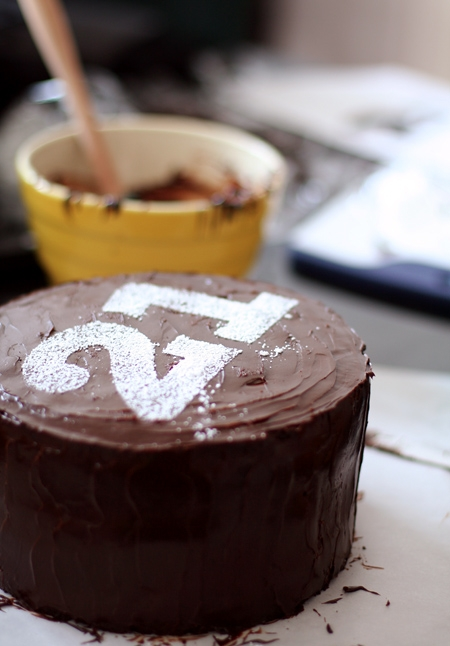 ... Double Chocolate Layer Cake with Raspberry Filling | Recipe Stowaway