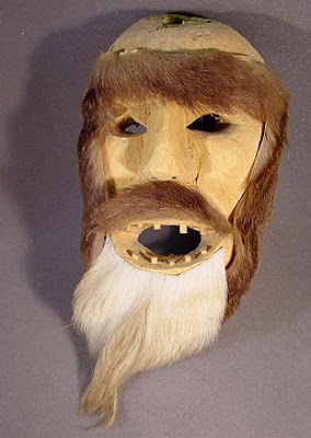 bigfoot Tarahumara mask