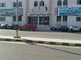 قوافل تعليمية لمدارس الشيخ زويد ورفح  بعد انتهاء قرار تأجيل الدراسة