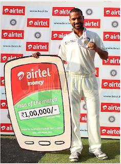 Shikhar-Dhawan-Man-of-the-Match-INDIA-v-AUSTRALIA-3rd-Test