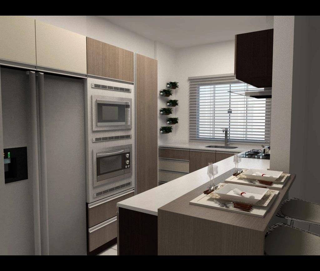 Cozinha Americanas Planejadas 6 Car Interior Design #766955 1024 868