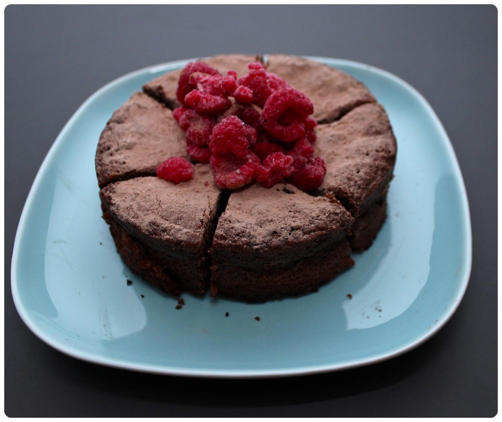 Flourless Dark Chocolate Cake | Gemma Chew