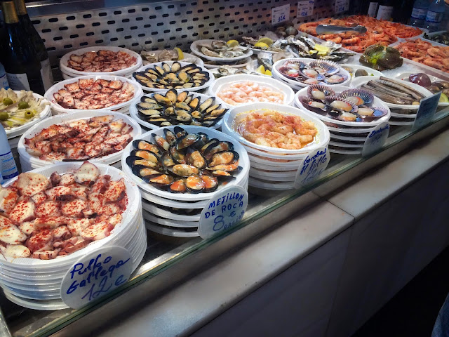 Seafood | Mercado San Miguel | Chichi Mary Blog
