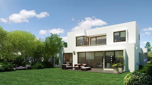 Casa moderna de playa en una isla privada en Miami beach