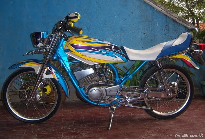 modifikasi motor king 2015 terbaru