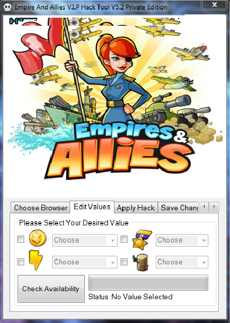 Empire and Allies Hack Tool V.I.P V5.2 Private Edition