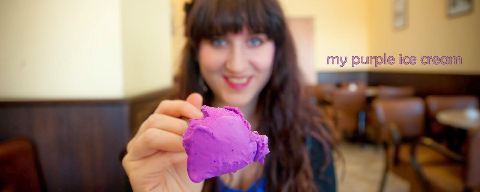 My purple Ice Cream