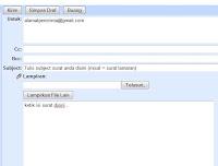 Pengertian Cc, Bcc pada email