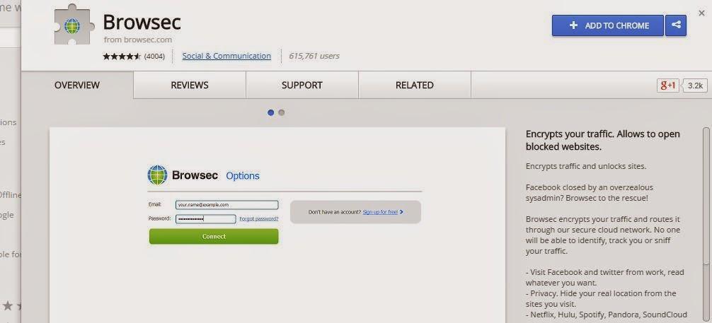 Add On Chrome Internet Positif
