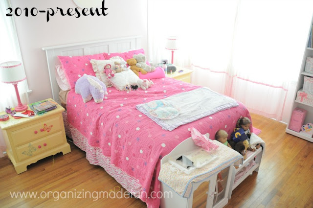 Time For A Big Girl Room Change Organizing Made Fun