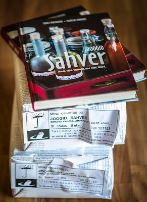 Uus raamat Sahver sarjast on jookidest