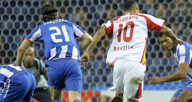 Hasil Pertandingan FC Porto vs Sevilla 4 April 2014
