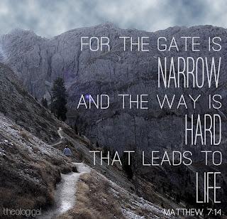 BibleGateway - : narrow gate