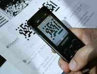 Scanning QR code image from Bobby Owsinski's Music 3.0 blog